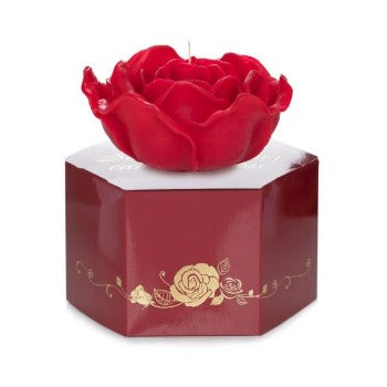 335g red rose floating candles and box