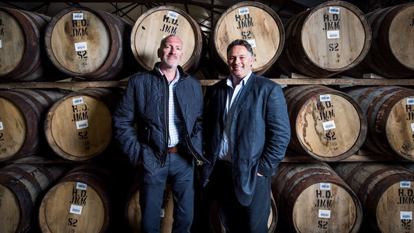 Andy Simpson (left) and David Robertson (right), founders of Rare Whisky 101.