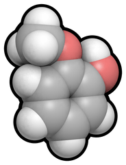 Guaiacol is a naturally-occurring organic compound. Photo: Wikimedia Commons