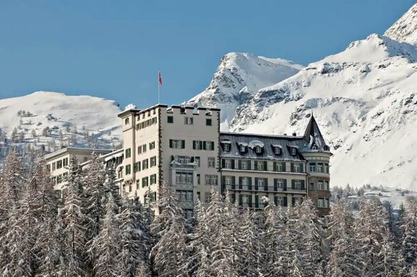 The Waldhaus Hotel in St. Moritz, Switzerland