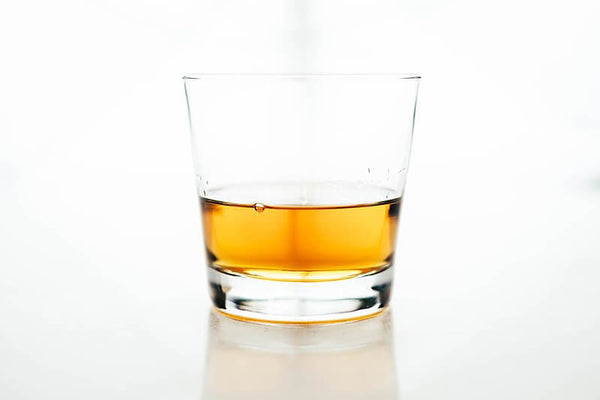 The older the whiskey, the darker it becomes due to wood exposure.