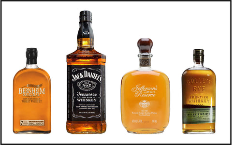 This is very evident on American brands of whiskeys today.
