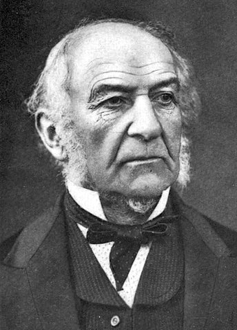 UK Prime Minister William Ewart Gladstone, considered by many as one of the greatest statesmen of the 19th Century.