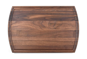 Curved Personalized Cutting Board with Juice Groove