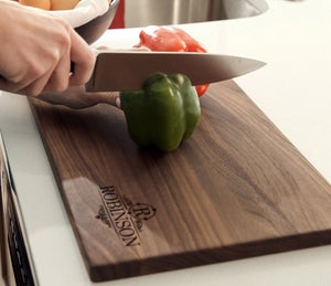 Straight-Edge Personalized Cutting Board