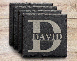 *NEW* Personalized Slate Coasters - Launch Sale