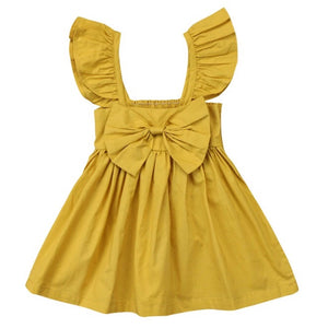 Darla Dress-Yellow
