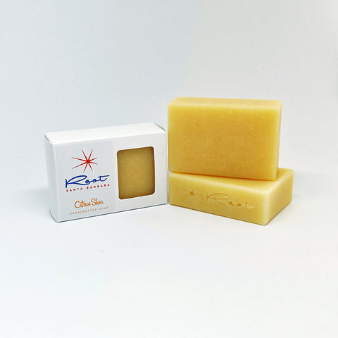 Citrus-Shea Handcrafted Soap
