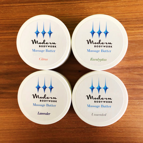 Modern Bodywork Massage Butter Sample Pack