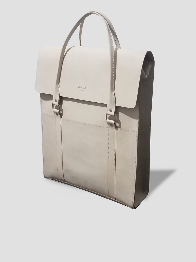 Unisex Sasuke Briefcase in Natural Color