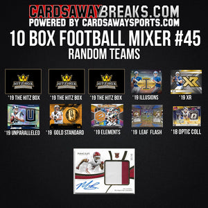 10-Box Football Mixer - RANDOM TEAMS #44