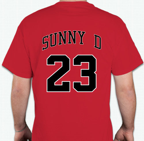 brand new a720d fa728 Sunny D x MJ Throwback Jersey T-Shirt (LIMITED!)