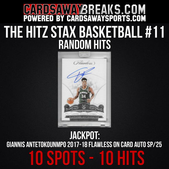 The Hitz Stax (Basketball) #11 - Giannis Flawless Auto