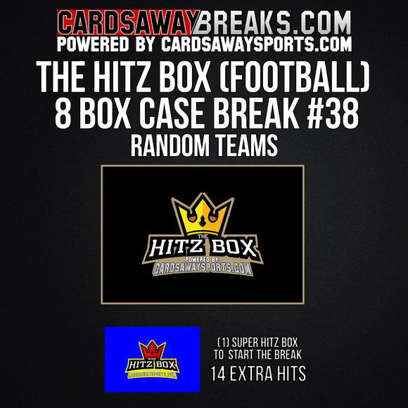 The Hitz Box 8-Box Case Break (Football) - Random Teams #38