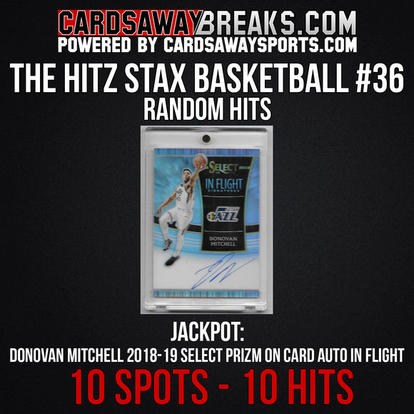 The Hitz Stax (Basketball) #36 - Donovan Mitchell Auto