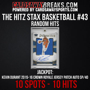 The Hitz Stax (Basketball) #43 - Kevin Durant Auto SP/40