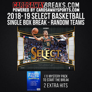2018-19 Select Basketball - Single Box Break - Random Teams #1
