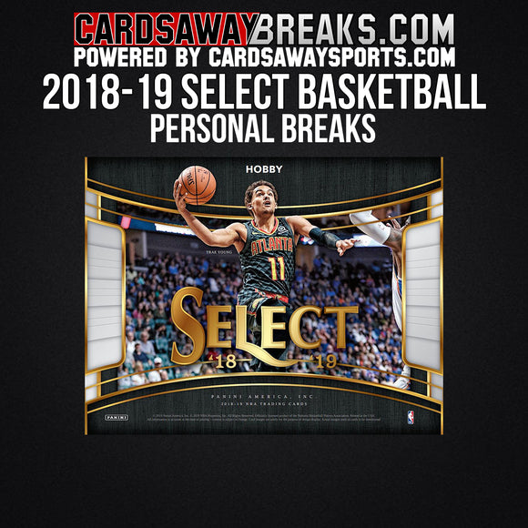 2018-19 Select Basketball - Single Box Personal Break
