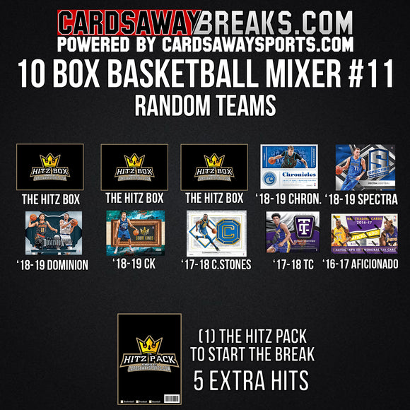 10-Box Basketball Mixer - RANDOM TEAMS #11