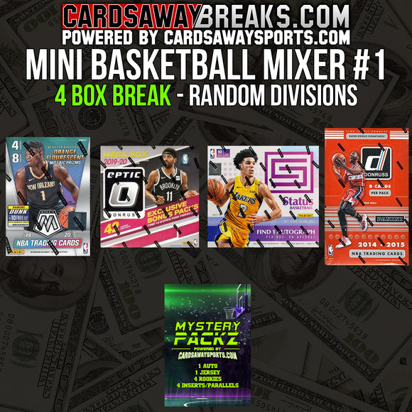 Mini Basketball Mixer (4 Box) - RANDOM DIVISIONS #1