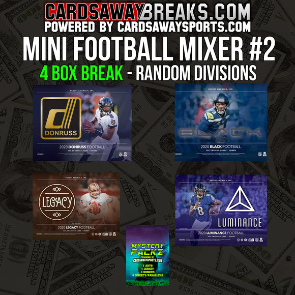 Mini Football Mixer (4 Box) - RANDOM DIVISIONS #2