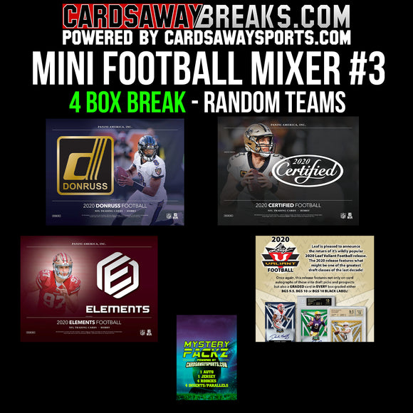 Mini Football Mixer (4 Box) - RANDOM TEAMS #3
