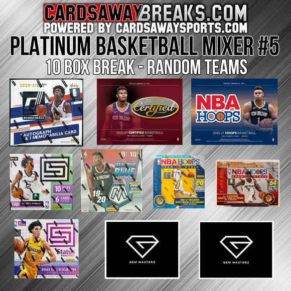 PLATINUM Basketball Mixer (10 Box) - RANDOM TEAMS #5