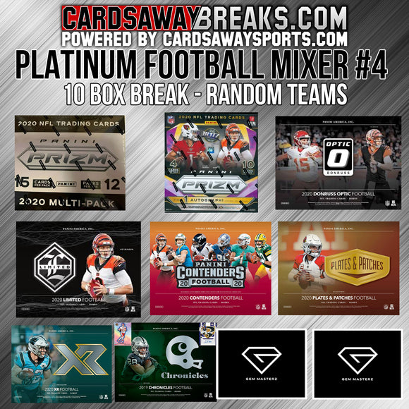 PLATINUM Football Mixer (10 Box) - RANDOM TEAMS #4