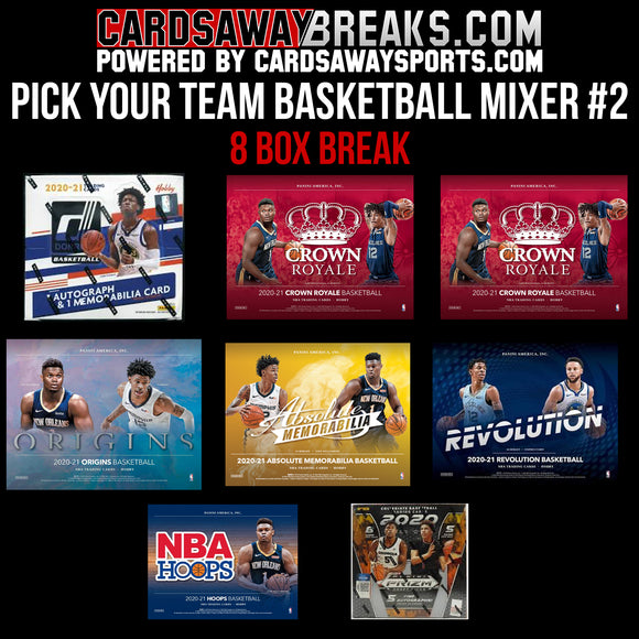 Pick Your Team Basketball Mixer #2