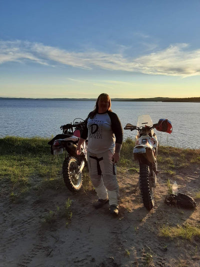 Your Stories: Rocking The Dual Sport with Liza K!