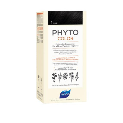 Phyto_Phytocolor Ammonia-Free Hair Color_1 Black