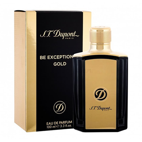 S.T Dupont Be Excptional Gold For Men EDP 100ML