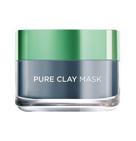 Pure Clay Black Mask with Charcoal, Detoxifies & Clarifies