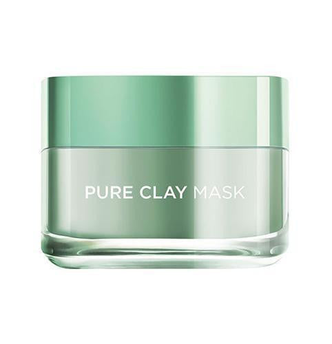 Pure Clay Green Mask with Eucalyptus, Purifies and Mattifies