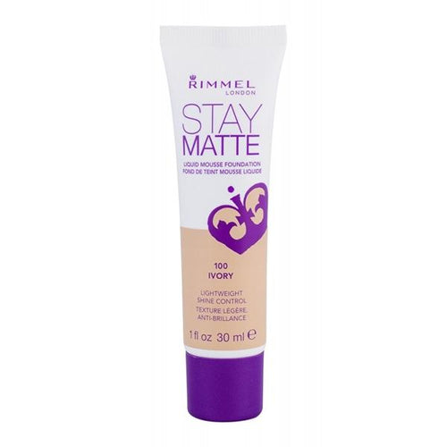 Rimmel London Stay Matte Liquid Mousse Foundation  34788818Ivory