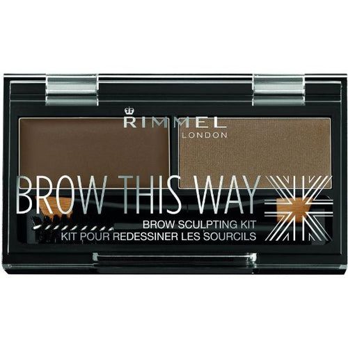 Rimmel London Brow This Way Eyebrow Sculpting Kit 3466664000