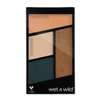 wet n wild Color Icon Eyeshadow Quads Palette E343B Hooked on Vinyl