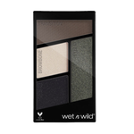 wet n wild Color Icon Eyeshadow Quads Palette E338 Lights Out