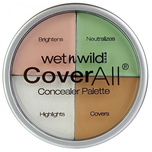 wet n wild CoverAll Concealer Palette Color Commentary