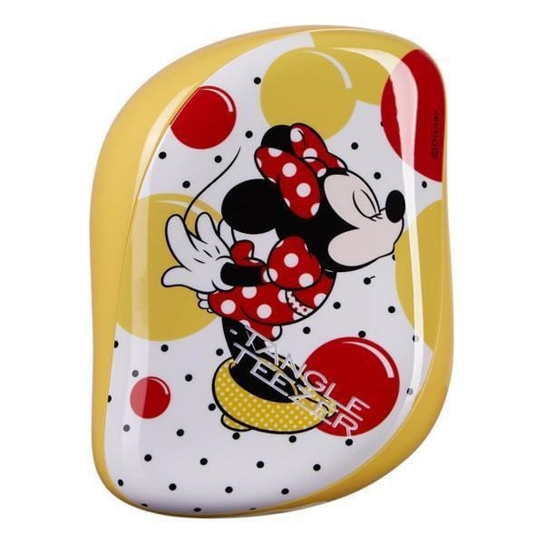The Compact Styler Hairbrush - Minnie Mouse Sunshine Yellow