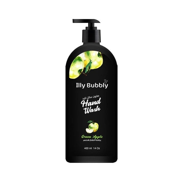Handwash Illy Bubbly Green Apple  400ml