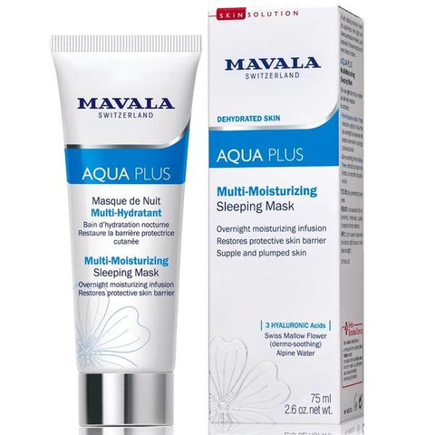 Mavala Aqua Plus - Multi-Moisturizing Sleeping Mask