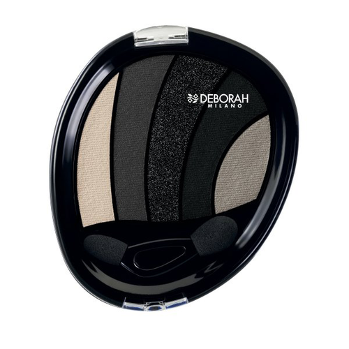 Deborah Perfect Smokey Eye Palette 03 Black Smoky