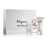 Salvatore Ferragamo Amo Set For Women EDP 100ml + B.LOTION 100ml + EDP 10ml