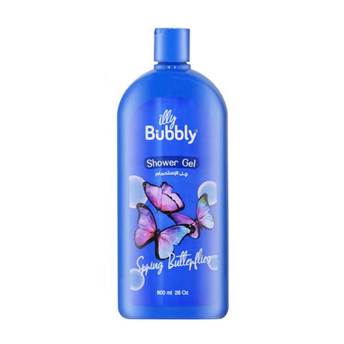 Shower Gel Illy Bubbly Butterflies 800ml bottle