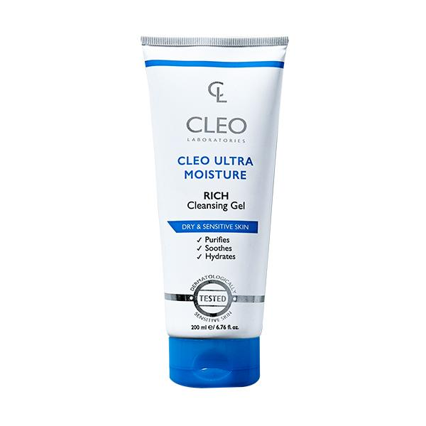 Cleo Ultra Moisture Rich Cleansing Gel
