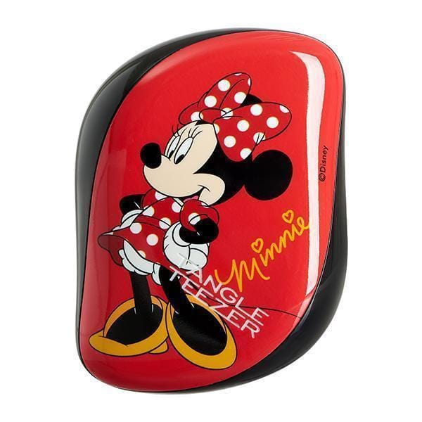 The Compact Styler Hairbrush - Minnie Mouse Rosy Red