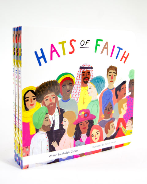 10% off 'Hats of Faith' - Children's Illustration Book