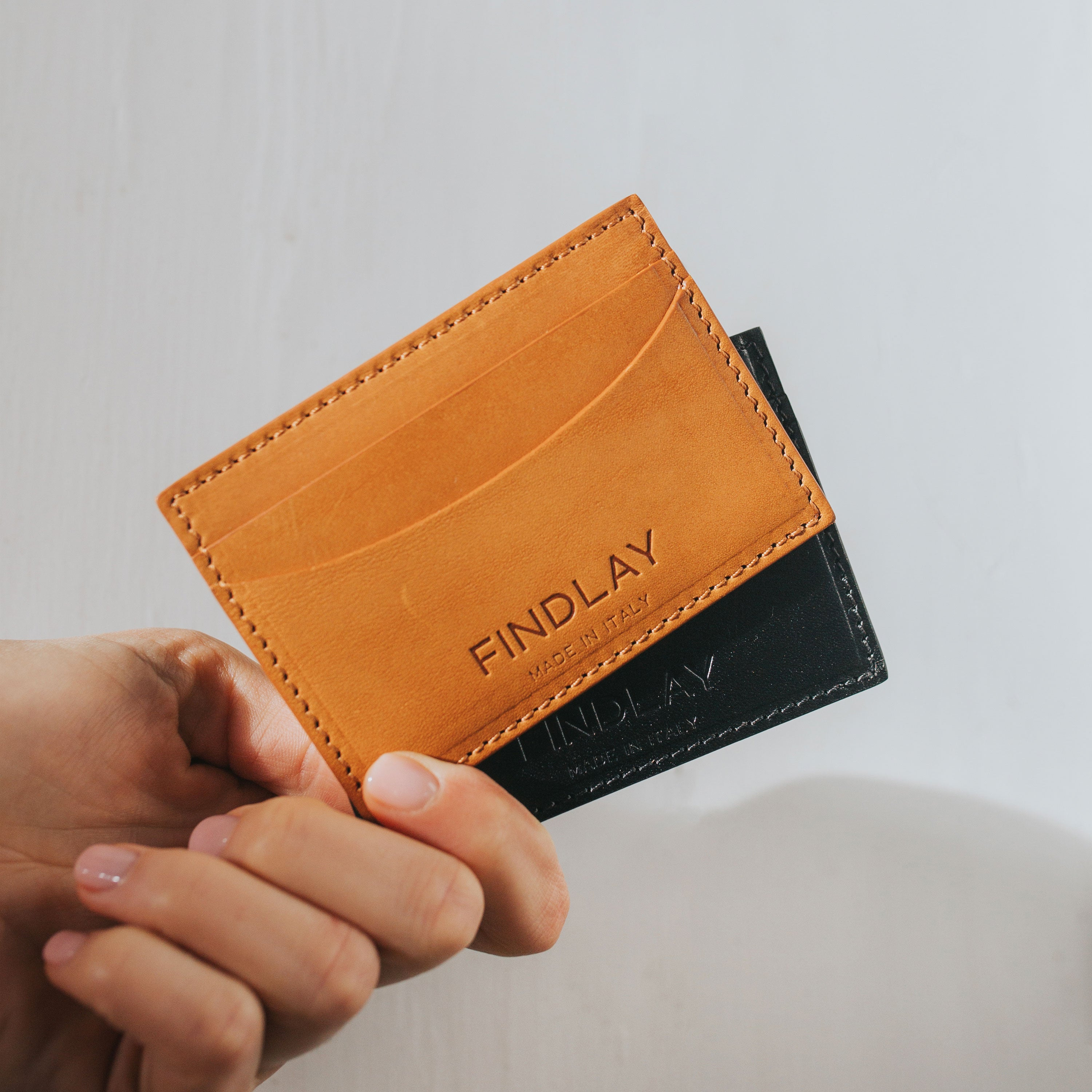 Essential Card Wallet, Camel