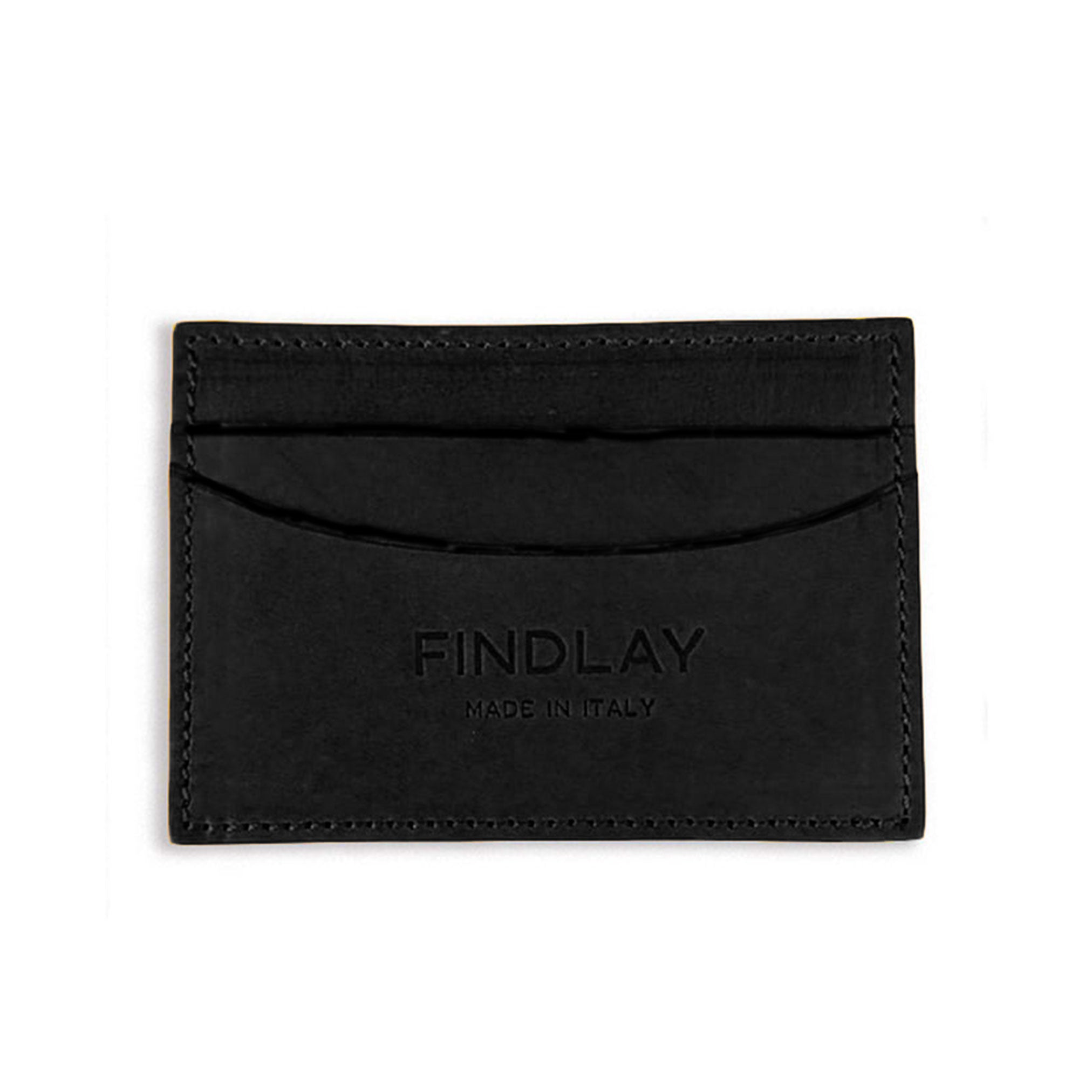 Essential Card Wallet, Black Lux